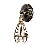 billige Vegglamper-OYLYW Mini Stil Retro / vintage / Moderne / Nutidig Vegglamper Stue / Spisestue Metall Vegglampe 110-120V / 220-240V 60 W