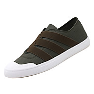 Muškarci Udobne cipele Platno Jesen Ležerne prilike Sneakers Non-klizanje Crn / Crvena / Zelen