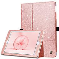 BENTOBEN Capinha Para Apple iPad (2018) / iPad (2017) Antichoque / Com Suporte / Flip Capa Proteção Completa Sólido Macia PU Leather para iPad Air / iPad 4/3/2 / iPad Mini 3/2/1