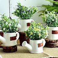 billige Kunstige blomster-Kunstige blomster 1 Gren Klassisk / Singel Enkel Stil / Pastorale Stilen Planter / Vase Bordblomst