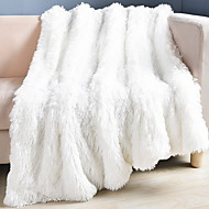 cheap Bedding Sets-Sofa Throw, Geometric Polyester Comfy Blankets