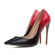 cheap -Women's Pumps Crocodile Spring & Summer Vintage Heels Stiletto Heel Pointed Toe Black / White / Black / Red / White / Yellow / Wedding / Party & Evening