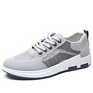 baratos Sapatos Masculinos-Homens Sapatos Confortáveis Com Transparência Outono Tênis Caminhada Preto / Cinzento