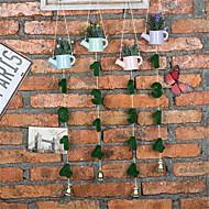 billige Kunstig Blomst-Kunstige blomster 1 Afdeling Vægmonteret Moderne / Nutidig / minimalistisk stil Planter / Vase Vægblomst