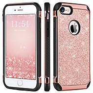 billiga Mobil cases & Skärmskydd-BENTOBEN fodral Till Apple iPhone 6s / iPhone 6s Plus Stötsäker / Plätering / Glittrig Skal Glittrig Hårt TPU / PC för iPhone 6s Plus / iPhone 6s / iPhone 6 Plus