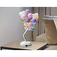 billige Skrivebordslamper-1pc Varmluftsballong LED Night Light Varm hvit DC-drevet Oppladbar <5 V