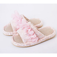Χαμηλού Κόστους Παιδικά Slipper-Κοριτσίστικα Παπούτσια Βαμβάκι Άνοιξη & Χειμώνας Ανατομικό Παντόφλες & flip-flops για Παιδιά / Εφηβικό Φούξια / Πράσινο / Ροζ