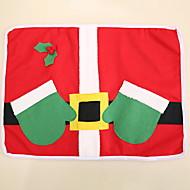 billige Bordduker-Moderne Ikke Vevet Kvadrat Bordskånere Geometrisk Jul Borddekorasjoner 1 pcs
