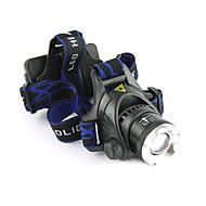 ieftine -1200 lm Frontale / Becul farurilor LED 3 Mod LS059 - Zoomable / Rezistent la apă / Focalizare Ajustabilă