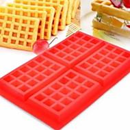 billige Bakeredskap-Bakeware verktøy Silikon Kreativ Kjøkken Gadget Originale kjøkkenredskap Rektangulær Dessertverktøy 1pc