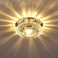 billiga Belysning-Kristall Takmonterad Glödande Elektropläterad Kristall Kristall Växelström 110-240 V Varmt vit / Kall vit