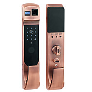 billige Intelligente låser-Factory OEM Rustfritt Stål Intelligent Lås Smart hjemme sikkerhet iOS / Android System RFID / Anti peeping passord / Flere dørkombinasjonsmodus Soveværelse / Leilighet / Hotell (Lås opp modus