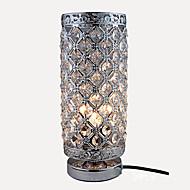 billige Skrivebordslamper-Krystall / Moderne / Nutidig Øyebeskyttelse Skrivebordslampe Til Soverom / Leserom / Kontor Metall 110-120V / 220-240V