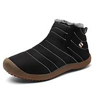 tanie Obuwie męskie-Męskie Komfortowe buty Syntetyki Zima Casual Mokasyny i buty wsuwane Zatrzymujący ciepło Czarny / Ciemnoniebieski / Szary
