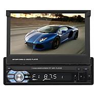 swm 9601 7 tommer 2 din anden bil mp5 afspiller berøringsskærm / indbygget bluetooth / sd / usb support til universel rca / audio / av out support mpeg / avi / mpg mp3 / wma / wav gif / jpg