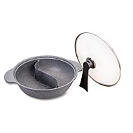 cheap Cookware-1pc Kitchen Utensils Tools Aluminium Alloy Non-Stick Pot Everyday Use