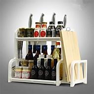 Kjøkkenorganisasjon Bestikkere Plastikk Lagring / Lett å Bruke 1pc