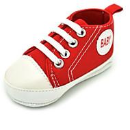 baratos Sapatos de Menino-Para Meninos / Para Meninas Sapatos Lona Primavera Conforto Tênis para Bébé Verde / Azul / Rosa claro