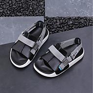 baratos Sapatos de Menino-Para Meninos / Para Meninas Sapatos Jeans Verão Conforto Sandálias para Bébé Branco / Preto