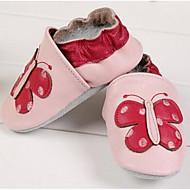 baratos Sapatos de Menino-Para Meninos / Para Meninas Sapatos Couro Primavera / Outono Conforto Rasos para Bébé Rosa claro
