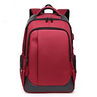 billige Computertasker-Oxfordtøj Laptoptaske Lynlås Sort / Rød / Mørkeblå