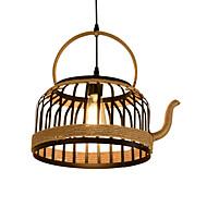 billige Takbelysning og vifter-Lanterne Lysekroner Nedlys Malte Finishes Metall Reb 110-120V / 220-240V