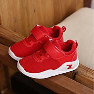baratos Sapatos de Menino-Para Meninos / Para Meninas Sapatos Com Transparência Primavera Conforto Tênis para Bébé Preto / Vermelho