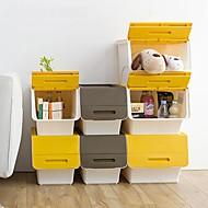 billige Lagring og oppbevaring-PP Rektangulær Nytt Design Hjem Organisasjon, 3pcs Lagrings-skap