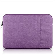 billige Computertasker-Nylon Laptoptaske Lynlås Mørkegrå / Himmelblå / Lys pink