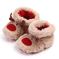 cheap Kids' Slippers-Boys' / Girls' Shoes Cotton Winter Comfort Slippers & Flip-Flops for Toddler Coffee
