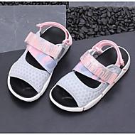 baratos Sapatos de Menino-Para Meninos / Para Meninas Sapatos Com Transparência / Microfibra Verão Conforto Sandálias para Infantil Preto / Verde / Rosa claro
