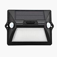 billige Utendørs Lampeskjermer-1pc 2 W plen Lights / Led Street Light / Solar Wall Light Solar / Dekorativ / Lysstyring Hvit 3.2 V Utendørsbelysning / Courtyard / Have 12 LED perler