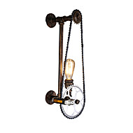 billige Vegglamper-Bedårende Antikk / Vintage Vegglamper Stue / Inngang Metall Vegglampe 220-240V 60 W