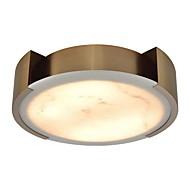 billige Taklamper-QIHengZhaoMing 6-Light Skyllmonteringslys Omgivelseslys galvanisert Metall Marmor 110-120V / 220-240V Varm Hvit