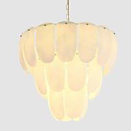 billige Takbelysning og vifter-QIHengZhaoMing 9-Light Lysekroner Omgivelseslys galvanisert Metall Glass 110-120V / 220-240V Varm Hvit