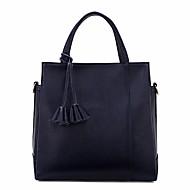 baratos Bolsas Tote-Mulheres Bolsas PU Tote Flor Azul Escuro / Cinzento / Vinho