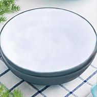 billiga Bordsservis-2-stk Flata tallrikar servis Porslin Keramisk Häftig