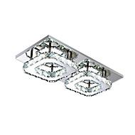 billige Takbelysning og vifter-Takplafond galvanisert Metall Pære Inkludert, LED 110-120V / 220-240V LED lyskilde inkludert / Integrert LED