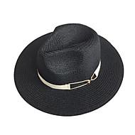 สำหรับผู้หญิง ลายพิมพ์ พื้นฐาน - หมวกสาน