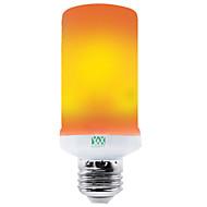 billige Globepærer med LED-YWXLIGHT® 1pc 3 W 200-300 lm E26 / E27 LED-globepærer 96 LED perler SMD 2835 Fest / Dekorativ / Jul Bryllup Dekorasjon Gul 100-240 V