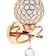 billige Krystall Vegglys-Kul Moderne Moderne Vegglamper Soverom Metall Vegglampe 220-240V 40 W