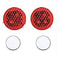 2pcs LED Night Light Rouge Détecteur Sécurité Urgence Ampoules LED pour voiture Accessoire auto Lampe de portière