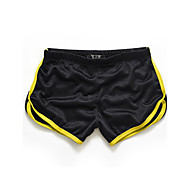 cheap -Men's Active Slim / Shorts Pants - Solid Colored / Color Block Yellow / Sports / Summer