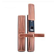 billige Dørlås-Factory OEM Sinklegering Lås / Intelligent Lås Smart hjemme sikkerhet System RFID / Fingeravtrykk opplåsing / Lås opp passord Husholdning / Hjem / Hjem / kontor Sikkerhetsdør / Wooden Door
