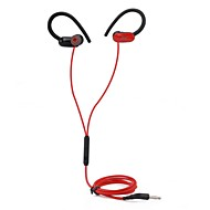 billiga Headsets och hörlurar-JTX Öronkrok Kabel Hörlurar Hörlurar Plast Sport & Fitness Hörlur Ny Design / Stereo / mikrofon headset