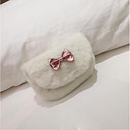 baratos Bolsas de Ombro-Mulheres Bolsas Poliéster Bolsa de Ombro Ziper Branco / Rosa / Khaki