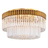 billige Taklamper-QIHengZhaoMing 9-Light Skyllmonteringslys Omgivelseslys galvanisert Krystall 110-120V / 220-240V Varm Hvit