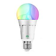 billige Globepærer med LED-YWXLIGHT® 1pc 7 W 600-700 lm B22 / E26 / E27 LED-globepærer 20 LED perler SMD 5730 Smart / APP-kontroll / Mulighet for demping RGBW / RGBWW 85-265 V