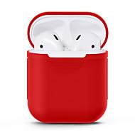 billiga Headsets och hörlurar-Hörlursfodral Full Body Silicone Svart / Rubinrött / Rodnande Rosa 1 pcs