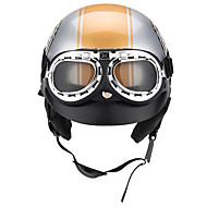 motorkerékpár nyitott arcvédő sisak napellenzőkkel 3 gomb